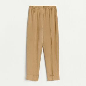 Reserved - Kalhoty joggers - Béžová