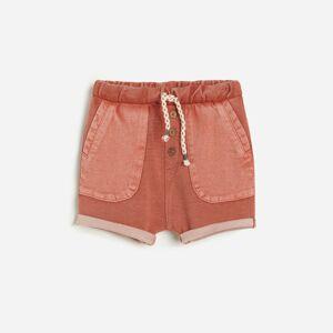 Reserved - Krátké kalhoty s kapsami - Červená