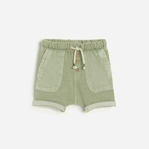 Reserved - Krátké kalhoty s kapsami - Tyrkysová