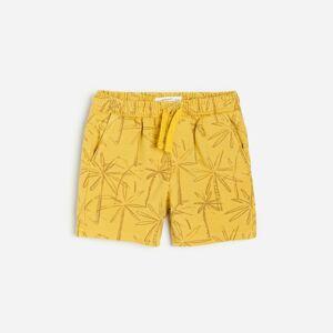 Reserved - Boys` shorts - Žlutá