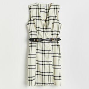 Reserved - Dámské šaty spáskem - Vícebarevná