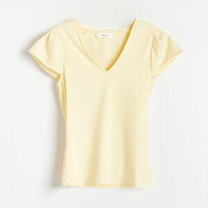Reserved - Ladies` blouse - Žlutá