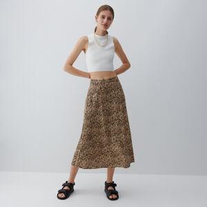 Reserved - Ladies` skirt - Béžová