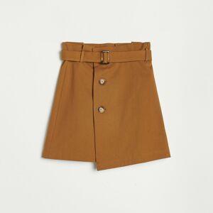 Reserved - Mini sukně - Hnědá