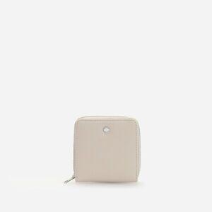 Reserved - Malá peněženka zumělé kůže - Krémová