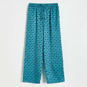 Reserved - Vzorované kalhoty - Vícebarevná