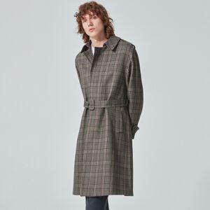Reserved - Kostkovaný kabát - Vícebarevná
