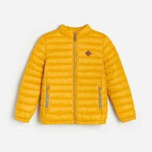 Reserved - Prošívaná bunda se stojáčkem - Žlutá