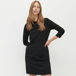 Reserved - Pleteninové šaty - Černý