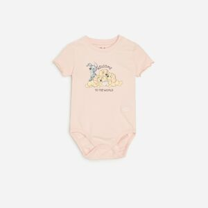 Reserved - Babies` body suit - Růžová