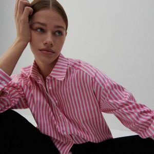 Reserved - Ladies` shirt - Růžová