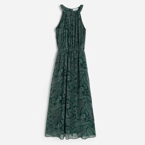 Reserved - Vzorované šaty - Khaki