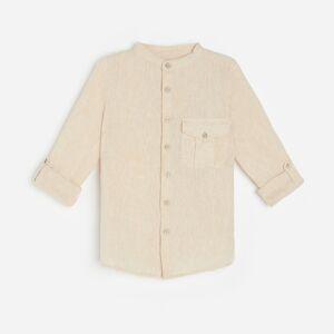 Reserved - Boys` shirt - Béžová