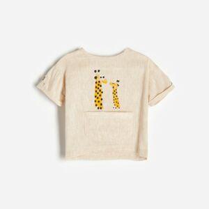 Reserved - Babies` blouse - Béžová