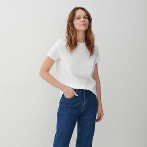Reserved - Bavlněné tričko - Bílá
