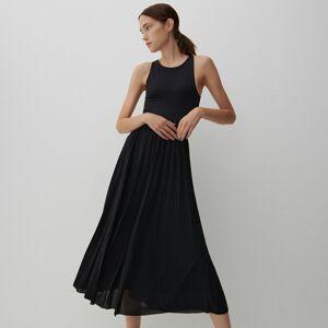 Reserved - Rozšířená midi sukně - Černý