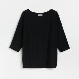 Reserved - Ladies` sweater - Černý