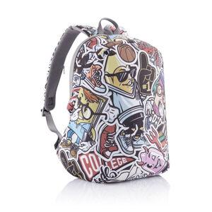 XD Design, Studentský batoh Bobby Soft Art 16 L, graffiti
