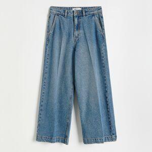 Reserved - Ladies` jeans trousers - Tmavomodrá
