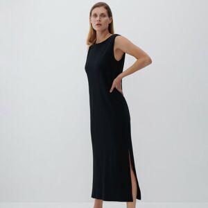 Reserved - Šaty zorganické bavlny - Černý