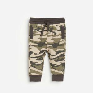 Reserved - Teplákové kalhoty moro - Khaki