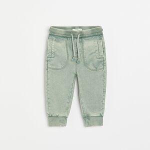 Reserved - Boys` trousers - Zelená
