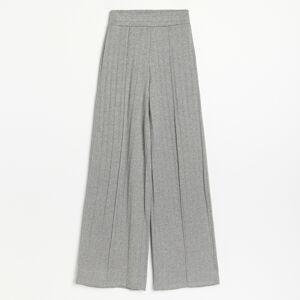 Reserved - Úpletové kalhoty - Šedá