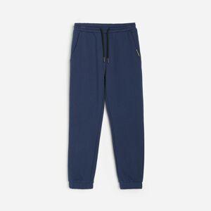 Reserved - Teplákové kalhoty - Tmavomodrá