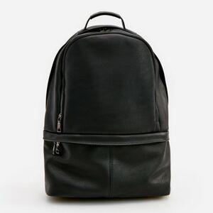 Reserved - Koženkový batoh - Černý