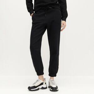 Reserved - Teplákové kalhoty z organické bavlny - Černý