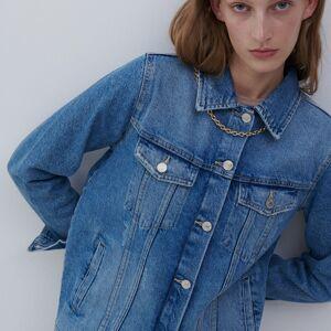 Reserved - Ladies` jacket - Modrá