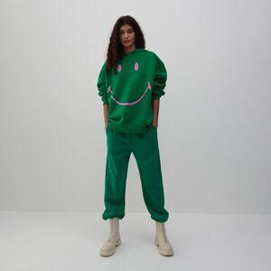 Reserved - Teplákové kalhoty - Zelená