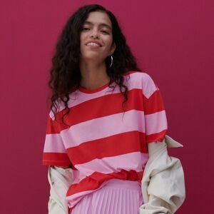 Reserved - Bavlněné tričko - Vícebarevná