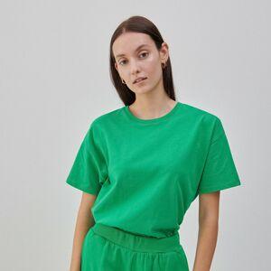 Reserved - Bavlněné tričko - Zelená
