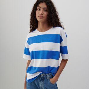 Reserved - Bavlněné tričko - Modrá