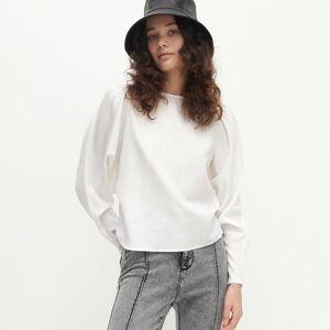 Reserved - Ladies` blouse - Bílá