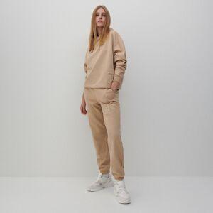 Reserved - Teplákové kalhoty - Béžová