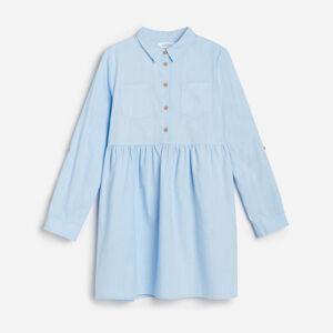 Reserved - Dívčí šaty - Modrá