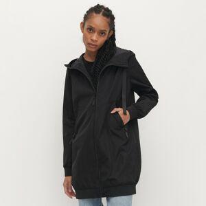 Reserved - Lehká bunda s kapucí - Černý