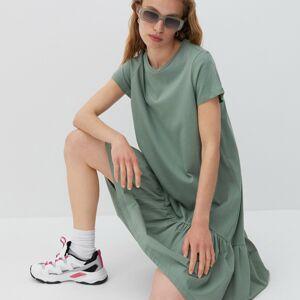 Reserved - Bavlněné šaty - Zelená