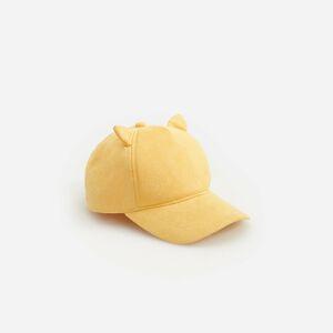 Reserved - Kšiltovka zumělého semiše - Žlutá