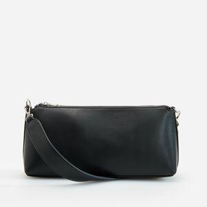 Reserved - Kožená kabelka stylu baguette -