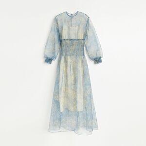 Reserved - Šaty z organzy - Vícebarevná