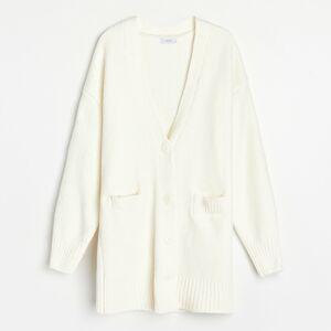 Reserved - Ladies` sweater - Žlutá
