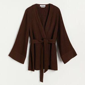 Reserved - Kimono - Hnědá