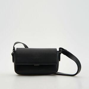 Reserved - Kožená kabelka - Černý