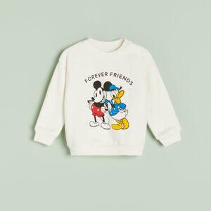 Reserved - Mikina svysokým podílem bavlny Disney - Krémová