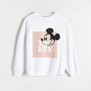 Reserved - Mikina Mickey Mouse - Bílá