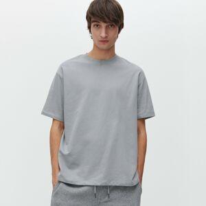 Reserved - Jednobarevné tričko basic - Světle šedá