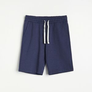 Reserved - Men`s shorts - Tmavomodrá
